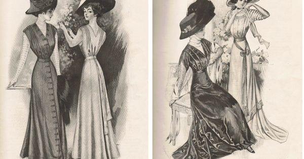 Gravure de 1908 extrait de mon miroir des modes 1908 for Miroir des modes prints