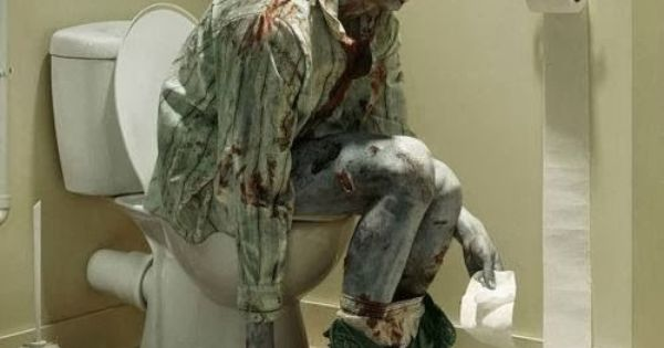 Funny Toilet Zombie Suddenly Steve Realized He Shouldn T