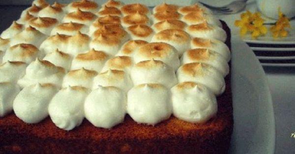 كيكة الليمون بالميرانغ Recipe Food Recipes Desserts