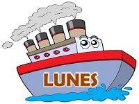 Carteles De Los Dias De La Semana Barco En 2020 Dias De La Semana Educacion