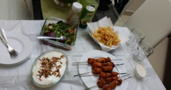 فتة حمص شي طاووق سلطة شمندر بطاطس مقلية Cooking Dishes Cooking Dishes