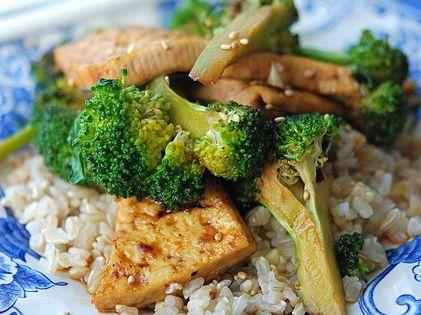 Broccoli Tofu Stir-Fry | Tofu, Broccoli Stir Fry and Stir Fry