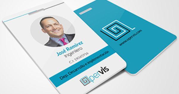 Opervis Id Card Desig