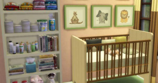 Sims 4 Nursery | Tumblr | Sims 4 Cc Furniture, Sims 4 Cc Folder, Tumblr Sims 4