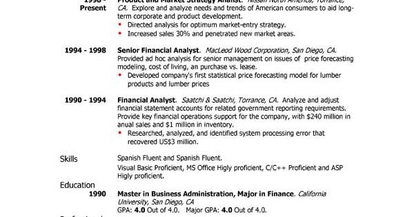 Resumes, Sample Cv Professional Profile Customer Service
