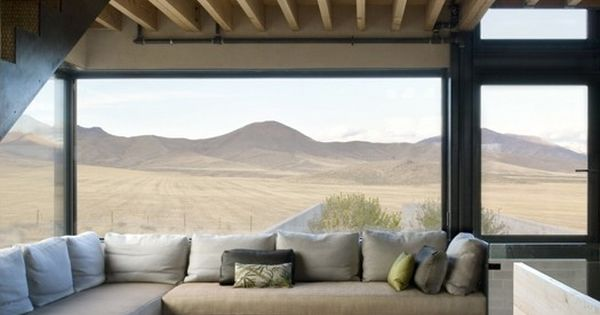 window seat Outpost by Olson Kundig Architects