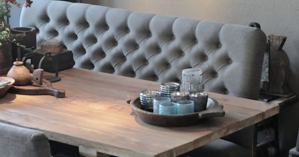 Zitbank voor aan de eettafel van hoffz interieur for the for Interieur 806
