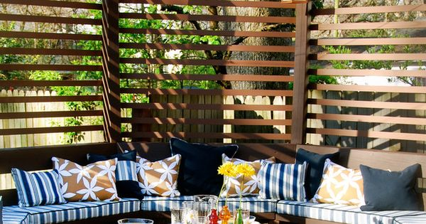 Essentials for Creating a Beautiful Outdoor Room | Outdoor Spaces - Patio