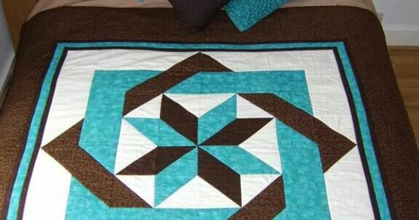 Turquoise And Brown Quilts Pinterest A Well