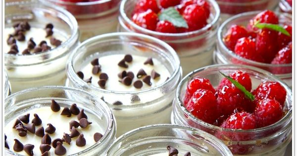 Cheesecakes in Jars makes 24 little cheesecakes. (the recipe is easily halved)