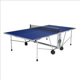 Cornilleau Sport One Outdoor Table Tennis Blue Color Top Pingpong With Images Outdoor Table Tennis Table Table Tennis Ping Pong