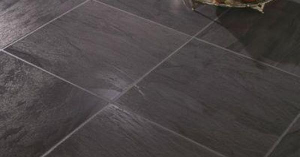 Hampton bay black slate laminate flooring sq for Hom flooring