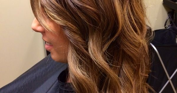 Chestnut Hair Color With Honey Tones Natural Beaded Rows