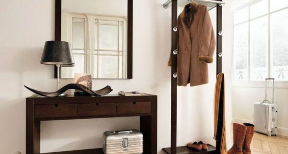 Muebles para recibidor perchero decoraci n zonas de paso - Muebles para un recibidor ...