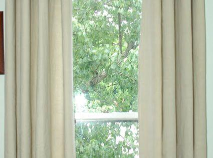 Diy Curtains Transform Painter S Drop Cloths Into