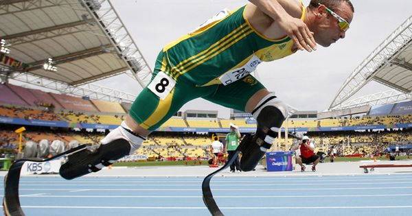 Oscar Pistorius is going to the Olympics: Oscar Pistorius has been selected