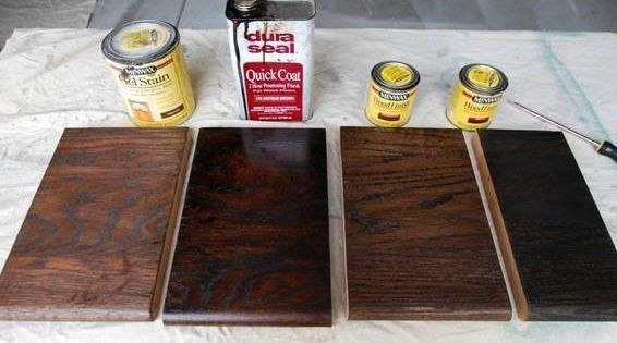 Best Two Coats My Carpenter Recommended Duraseal In 'Antique 400 x 300