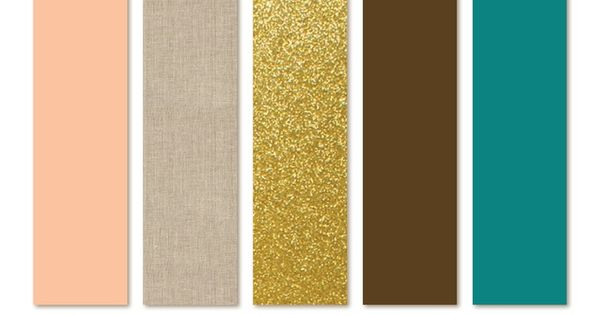 Gold Color Palette Found On