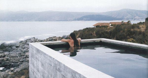 Casa Pite in Papudo, Chile, designed by Smiljan Radic; photograph by Cristobal