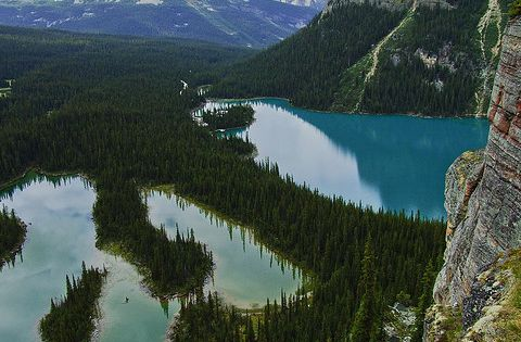 Mary Lake, Lake OHara, Yoho National Park, British Columbia, Canada