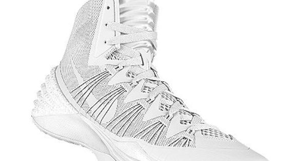 all white hyperdunks shoes pinterest clothes