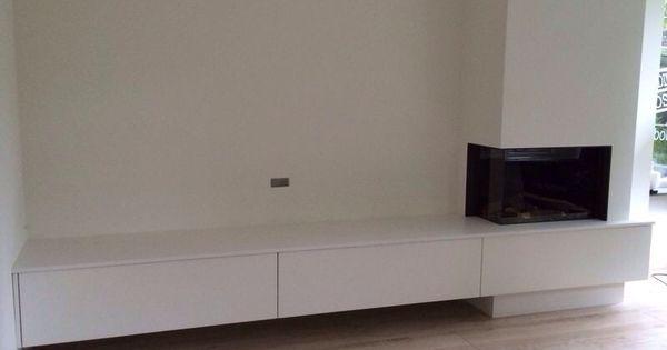 Zwevend meubel haard pinterest haard kasten en meubels - Tv hoek meubels ...