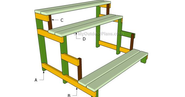 Plant stand plans free outdoor plans diy shed wooden for Plant shelf plans