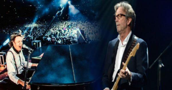 Paul Mccartney And Eric Clapton Something Live Paul Mccartney Eric Clapton My Love Paul Mccartney