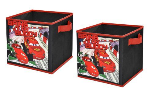 Disney Cars 2 Storage Cubes Set Of 2 10inch Visit The Image Link More Details Note Amazon Affiliate L Cube Storage Toy Storage Cubes Disney Cars Bedroom