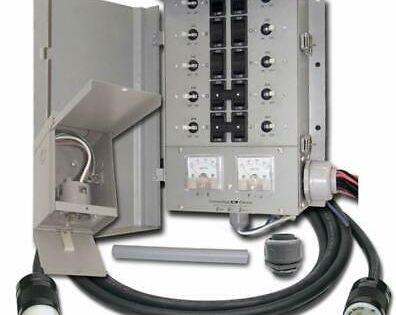 Ad Ebay Link Connecticut Electric Egs107501g2kit Emergen Egs107501g2 10 Circuit Manual Tra Generator Transfer Switch Transfer Switch Electricity