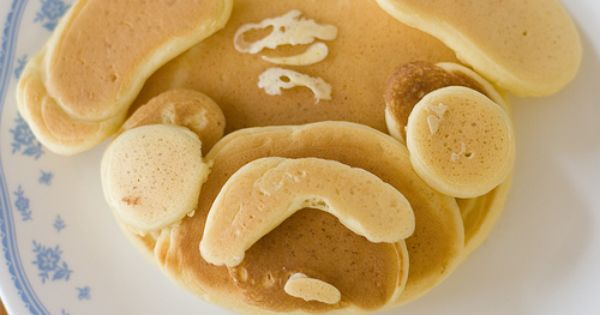 Pug Pancakes! For fun breakfasts in our little breakfast nook :)