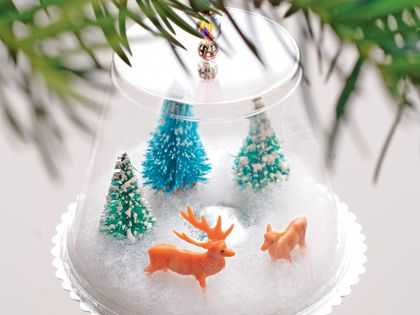 Christmas Ornament Craft Winter Wonderland « Christmas Crafts « Holiday Crafts «