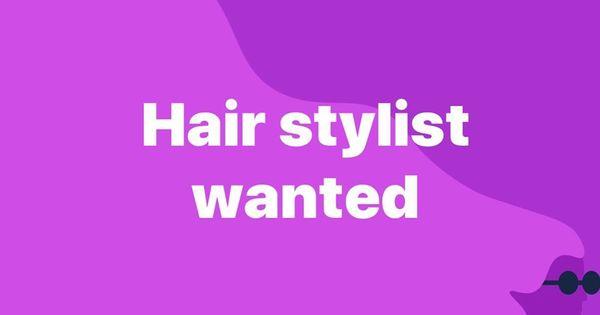 Hair Hair Hairstylist Hiring Jobshiring Estilistas Hairdresser Job Hairsalon Esteticistas Esthetician Call Now 407285 Esthetician Hair Salon Hair Stylist
