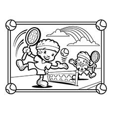 Top 25 Free Printable Tennis Coloring Pages Online Coloring Pages Sports Coloring Pages Kids Playing