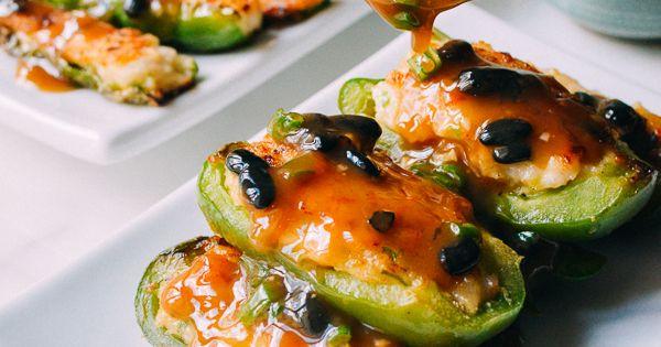 pepper recipes stuffed asian