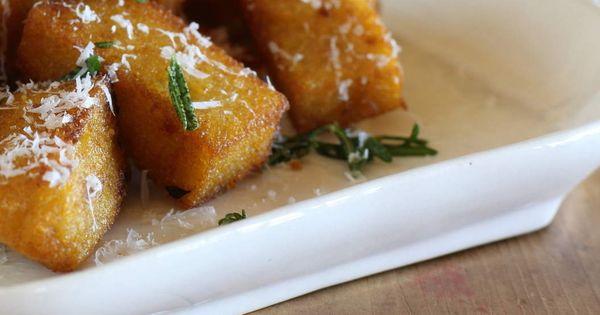 Polenta, Chips and Lunch menu on Pinterest