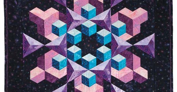 Tumbling Blocks Quilt Pattern Tumbling Blocks And More