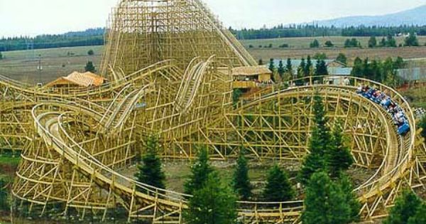 Silverwood Theme Park Water Park Idaho Loved This Place Since I Was A Kid Summer Family Fun Dream Vacations Theme Park