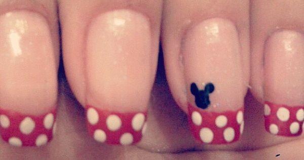 mickey mouse nails beauty