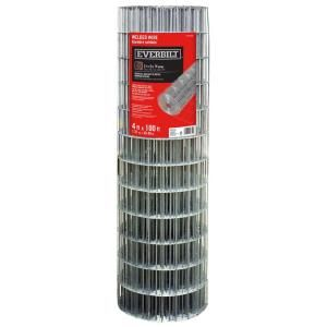 Everbilt Steel Welded Wire Are Ideal For Property Delineation And Marking Boundaries Gardens And Confinement Of S Welded Wire Fence Wire Mesh Fence Wire Fence