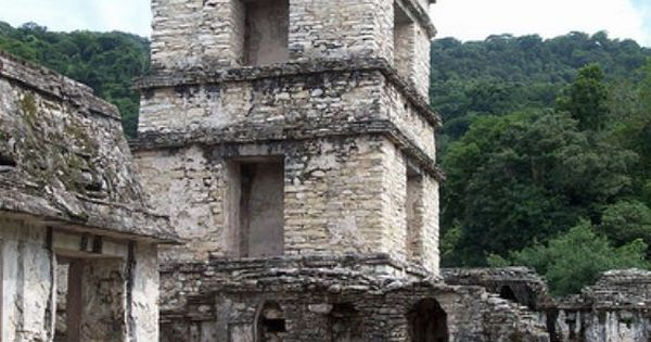Palenque (Built Between 400-700AD, Southern Mexico)
