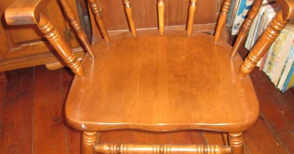 Indiana Tell City Maple Captain S Chair Early American