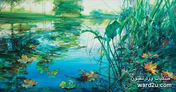 زهور الطبيعة فى لوحات مائية للفنان Oleg Timoshin الصفحة 3 Art Painting Flowers
