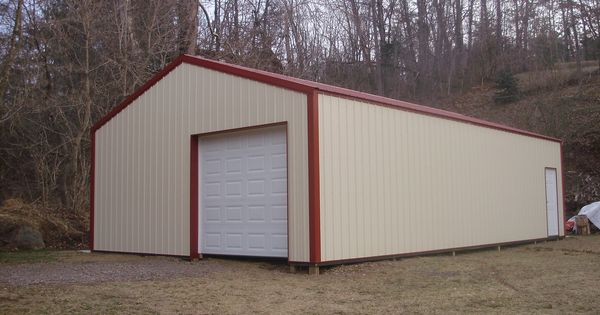 24 39 W X 40 39 L X 10 39 H Pioneer Pole Buildings Garage