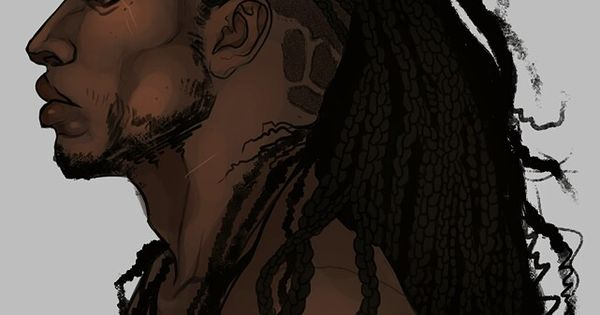 Cartoon Characters With Dreads : Dreads african anime characters pinterest