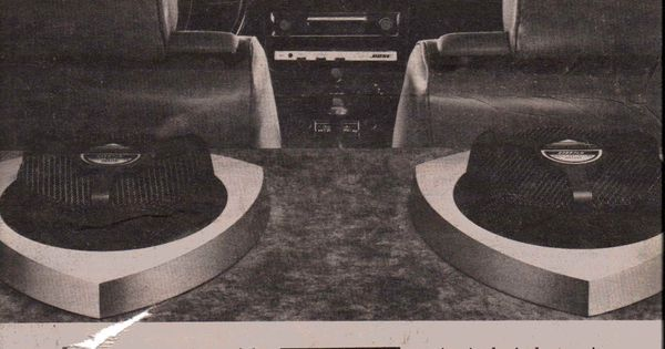 Bose Speakers For Cars >> 1980 Bose Model 1401 Direct/Reflecting car stereo. | Vintage Car Audio Ads | Pinterest | Car ...