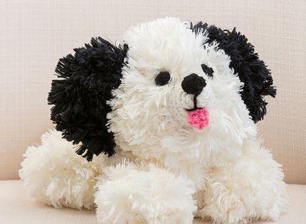 Irresistible Crochet Puppy Free Crochet Pattern in Red Heart Yarn American ...