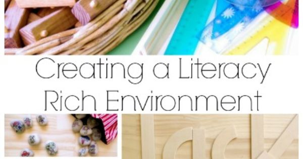 Creating a Literacy Rich Environment: Learning to read and write through play