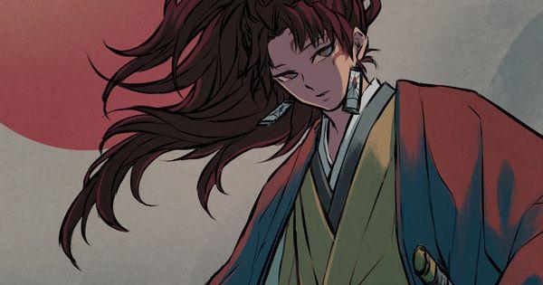 鬼滅の刃 日輪の剣士 麻倉 壱のイラスト pixiv イラスト きめつのやいば イラスト キャラクターデザイン