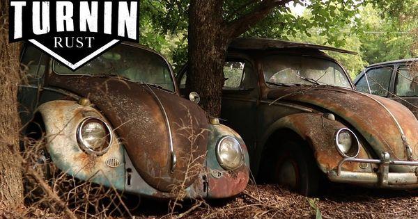 Huge Abandoned Volkswagen Collection Found After 40 Years 1960 Vw Be Old Car Restoration Vw Beetles Volkswagen